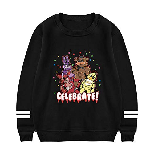 riverccc6.1500 FNAF It's Me Puppet Men's Sweatshirts Pullover Sweater]()
