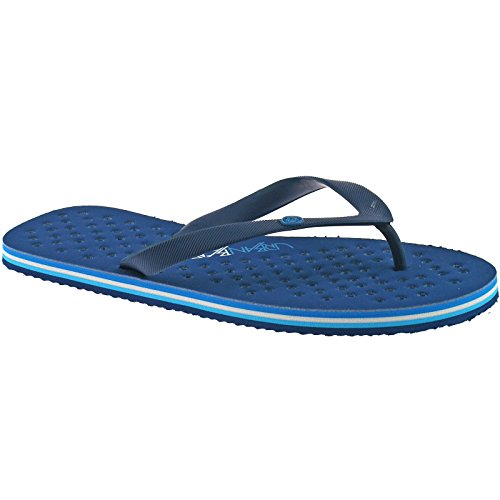 7 Mens Sandals EU Post Beach Flops UK 41 Flip Beach Fresh Toe Urban Blue 7nqwPrf7z