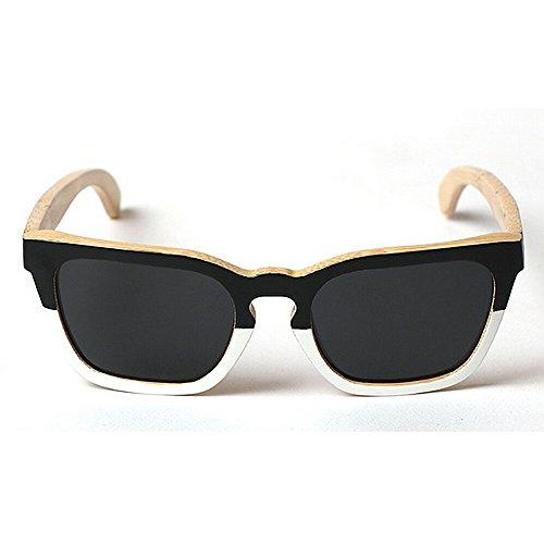 los Gafas sol madera de Gafas protección de Gafas Vintage UV sol Gafas bambú de cuadrada Eyewear de de marco a de hecho hombres Adult O sol sol sol de de de Diseñador Gafas de mano de conducción Beach nqXH1x4StO