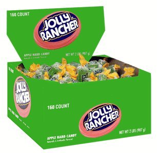 Jolly Rancher Hard Candy - Apple 160ct.