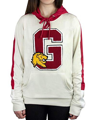 (Harry Potter Hogwarts Gryffindor G Patch Logo Premium Hoody/Hoodie Black)