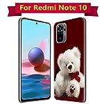 Fashionury Silicone Designer Printed Back Case Cover for Xiaomi Redmi Note 10 / Redmi Note 10S -D040