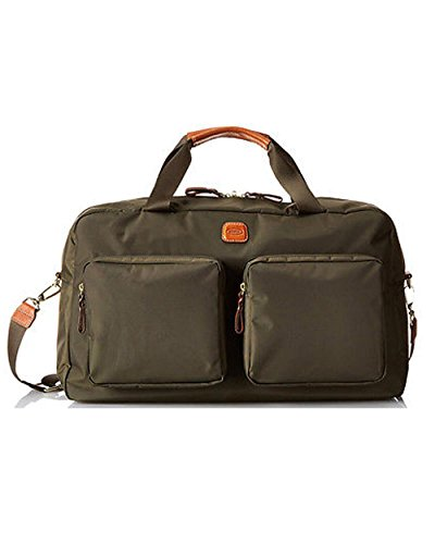 Bric's Luggage X Bag Boarding Duffel, Olive by Bric's