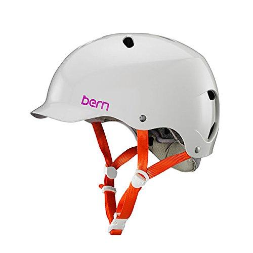 Bern 2017 Lenox EPS Summer Satin Ivory - M/L (Whitewater Helmet)