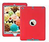 ipad case For iPad Air 1st Generation model Red Blue