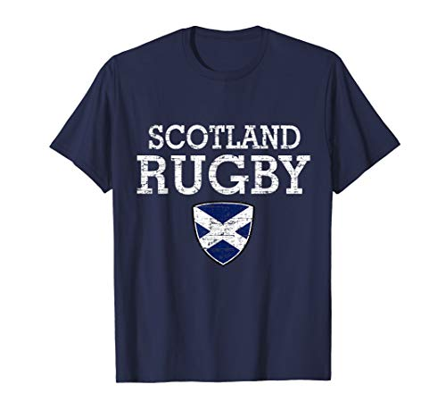 Scottish Flag Rugby T-shirt