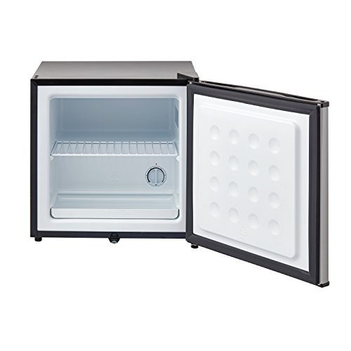 Whynter CUF-112SS 1.1 cu. ft. Energy Star Upright Lock-Stainless Steel Freezer, Cubic Feet