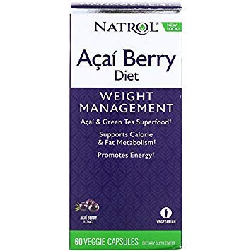 Natrol AcaiBerry Diet, 60 Capsules (Pack of 2)