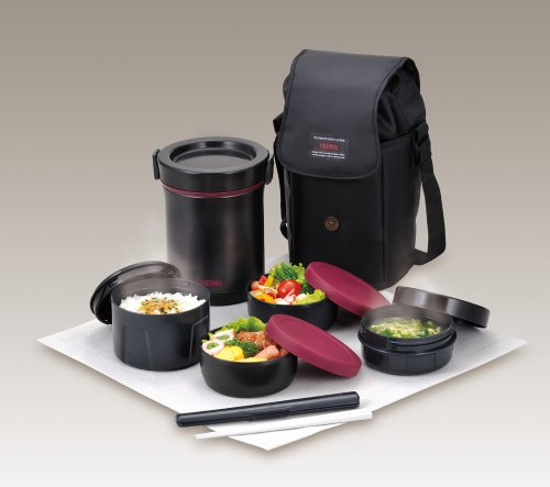thermos hot lunch heat retention lunch bento box set jbe 1600f buy online in uae kitchen. Black Bedroom Furniture Sets. Home Design Ideas