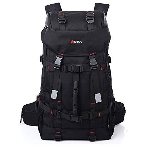 New Kaka Brand Large Capacity Travel Backpack Shoulder Bag Men Mountaineering Bags 55L Oxford Lockable Waterproof Luggage Bags