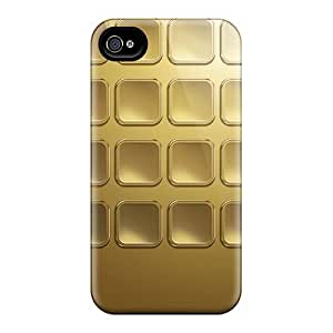 New Snap-on Favorcase Skin Cases Covers Compatible With Iphone 6plus- Gold Icons