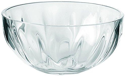 Guzzini Transparent Aqua Bowl, 2-1/2-Quarts Capacity, Clear