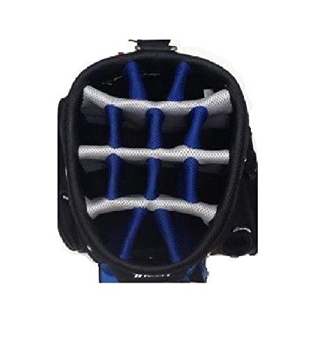 TiTech DCX 14,7 Bolsa de Golf Putter con Puerto, Negro/Azul ...