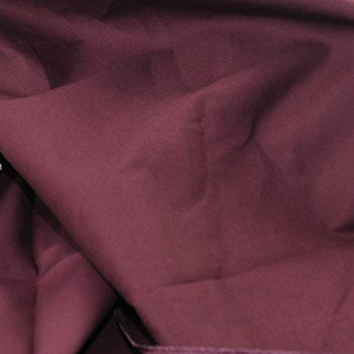 Pre-Cut Quilting Cotton Fabric Wine Red Color,Good Quality Craft Cloth,DIY for Sewing Crafting 61