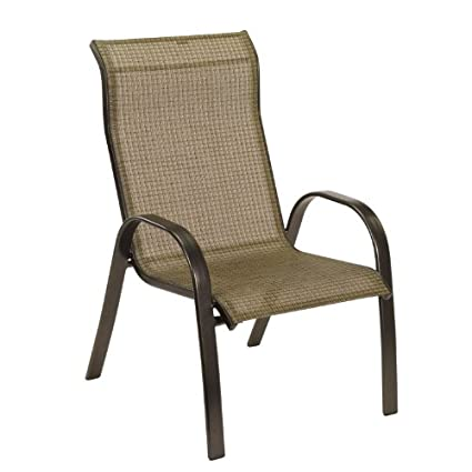 Tremendous Amazon Com Living Accents Sling Dining Chair Metropolitan Camellatalisay Diy Chair Ideas Camellatalisaycom