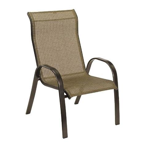 Living Accents Sling Dining Chair Metropolitan 28.74u0026quot; L X 25.6u0026quot;  ...