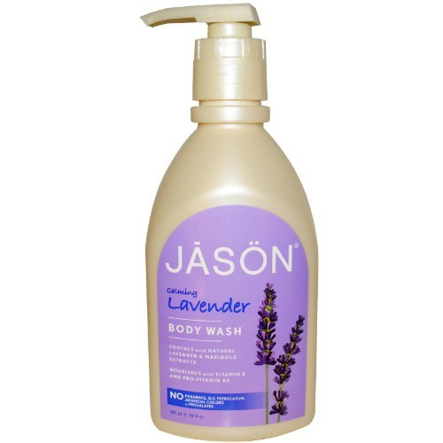 Body Wash, Satin Shower, Lavender, w/Pump, 30 oz.