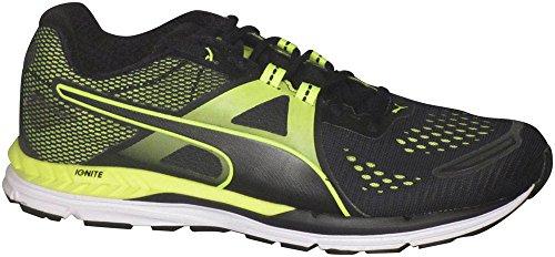 Puma Men's Speed 600 Ignite Running Shoes Puma Black/Safety Yellow 9 D(M) US