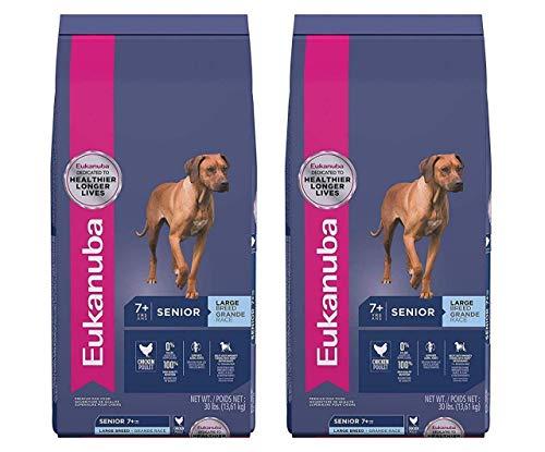 Eukanuba Senior Large Breed Dog Food 30 Pounds (2-(Pack))