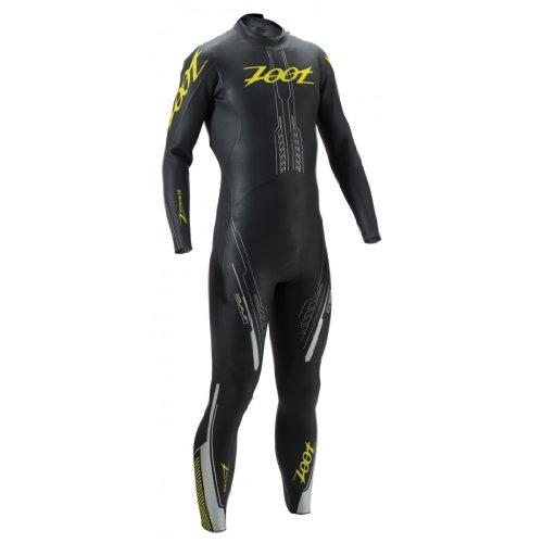 Zoot Sports Men's Z Force 1.0 Wetzoot, Black/Flash, X-Large