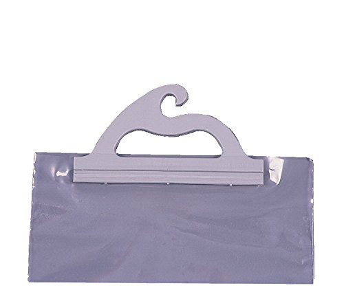 Hanging Storage Bags - 10 x 12.5 Inches - Pack of 5 ()