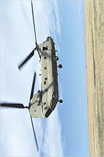 The Chinook Helicopter Journal: 150 page lined notebook