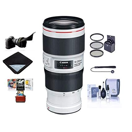 29f434d1c76720 Amazon.com: Canon EF 70-200mm f/4L is II USM Autofocus Telephoto ...