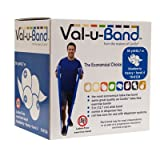 FABRICATION CANDO VAL-U BAND EXERCISE BANDS Exercise Band, Blueberry, 50 yds, No Latex (DROP SHIP ONLY)
