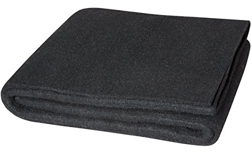 Steiner 317-3X4 Velvet Shield HD 24-Ounce Black Carbonized Fiber Welding Blanket, 3' x 4'