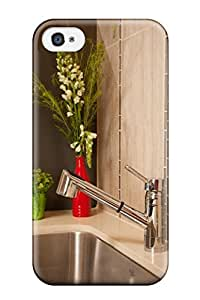 Industrial Deep Undermount Stainless Steel Kitchen Sink Case Cover For Iphone 4/4s Awesome Phone Case