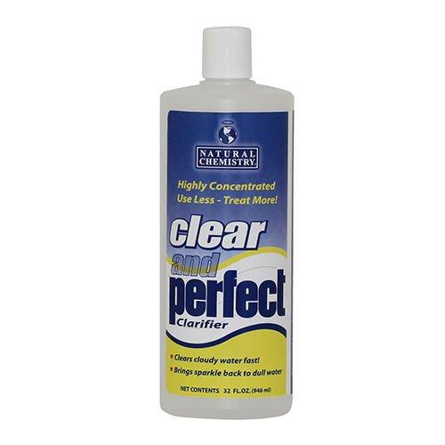 Natural Chemistry Clear & Perfect 6-n-1 Pool Clarifier 1qt / 32 oz - - Clarifier 1