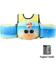 HOFOUND Schwimmflügel Schwimmwesten mit Schultergurt für Kind von 2-7 Jahre 15-30kg Schwimmweste für Kleinkinder Schwimmen zu Lernen Schwimmhilfe für Jungen und Mädchen