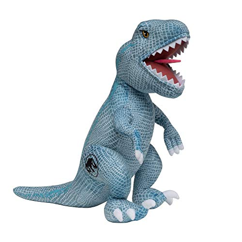 Universal Jurassic World 2 Fallen Kingdom T-Rex Plush Cuddle Pillow, Blue