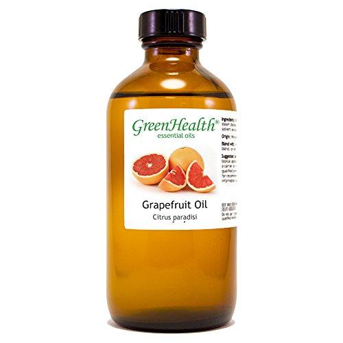 GreenHealth Grapefruit (Pink) – 8 fl oz (237 ml) Glass Bottle w/Cap – 100% Pure