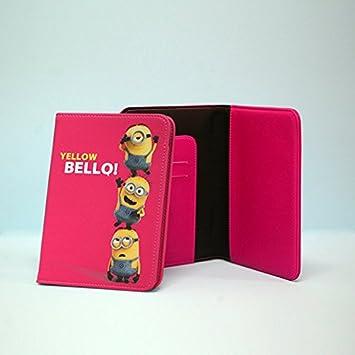 Rosa - Bello MINION Reisepass-Geldb/örsen