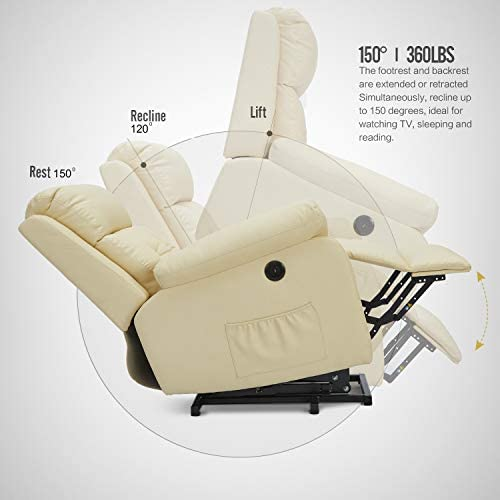 Esright Electric Power Lift Recliner Chair Sofa