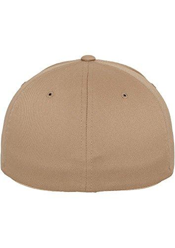 FLEXFIT Cap De Baseball en différents Couleur - Kaki, S/M - à 58 cm