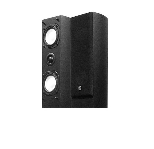 Yamaha NS-AP7800 Slim Line Center Channel and Surround Speakers (Black)