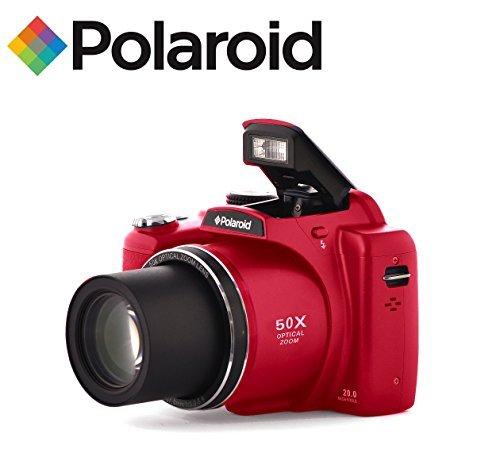 50x-Zoom-Bridge-Camera-SLR-Style-Digital-Camera-with-Optical-Zoom-Polaroid-iX5038-18-Megapixel-with-3-Screen