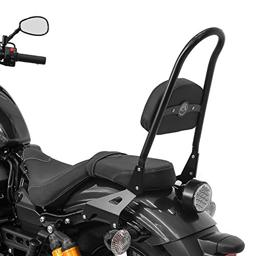 Sissy Bar Luggage Rack for Indian Scout Sixty 15-20 Black Casual L