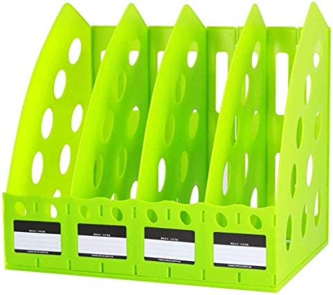 IAIZI Datei Halter Ordner Aufbewahrungsbox Desktop-Datenspeicherregal Ordner Regal Convenience (Farbe: C) ZGHE (Color : D)