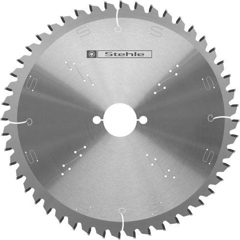 Stehle HW (HM) Kapp- und Gehrungssägeblatt Wechselzahn negativ 210x2,8/1,8x30mm Z=48 WZ