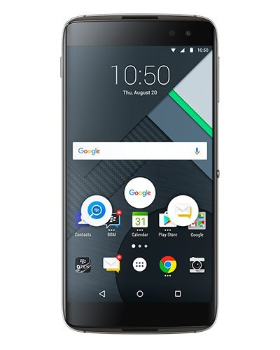 BlackBerry DTEK60 Factory Unlocked Phone - Earth Silver