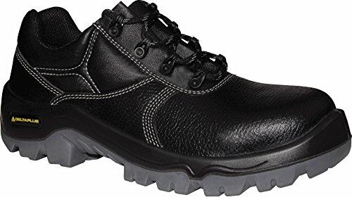 Delta plus calzado - Juego zapato piel prism s1 polos negro talla 43(1par)