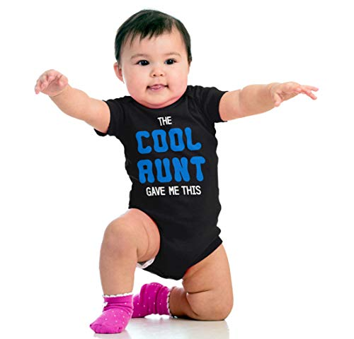 Brisco Brands The Cool Aunt Gave Me This | Auntie Niece Nephew Cute Family Romper Bodysuit by Brisco Brands (Image #4)