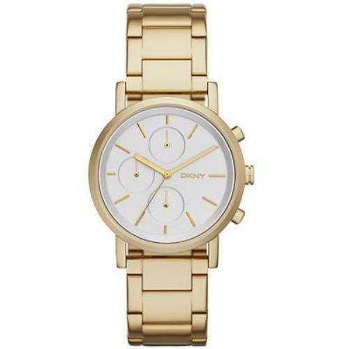 Dkny Gold Watch (DKNY Women's NY2274 SOHO Gold Watch)
