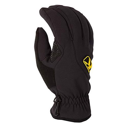 KLIM Inversion Insulated Men's Ski Snowmobile Gloves - Black/X-Large