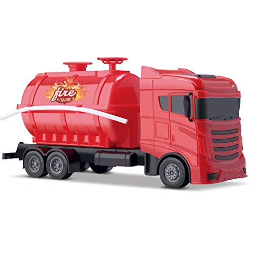 Caminhao Fire Tank Orange Toys Multicor