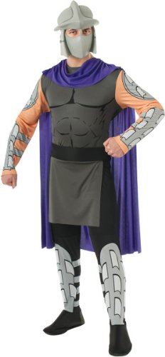 Tmnt Costumes Adults (Teenage Mutant Ninja Turtles Halloween Sensations Shredder Costume, X-Large)