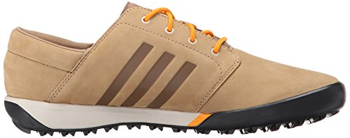 Scarpa Da Trekking Adidas Outdoor Da Donna, Elegante, Da Escursionismo, In Pelle / Arancio / Nero